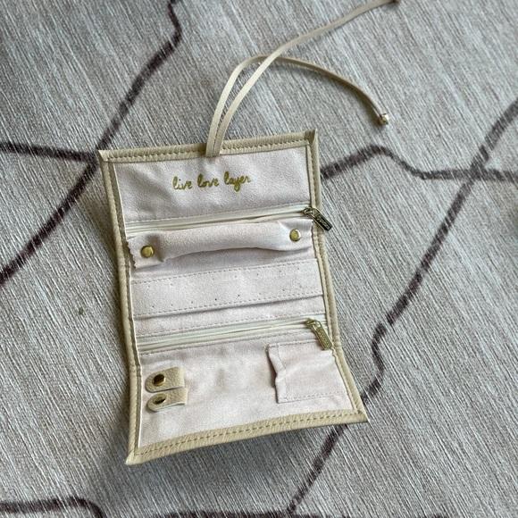 Gorjana Jewelry Roll-Up Case